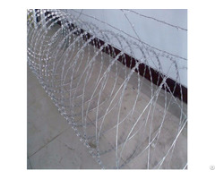 Single Coil Barbed Tape Wire
