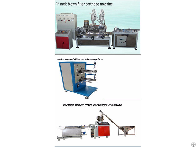 Cartridge Making Machine For Water Filtration