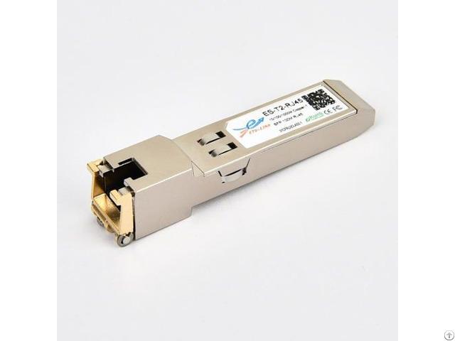 Rj45 10 100 1000m Cisco Compatible Copper Sfp Optical Transceiver Module