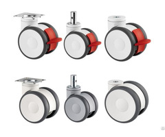 Linea Twin Wheel Casters