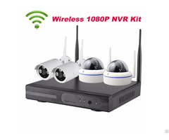 4ch Hd 1080p Wifi Nvr Kit