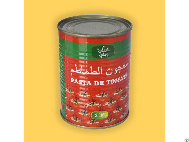 70g To 5kg Canned Tomato Paste With Sgs Supplier From China Factory