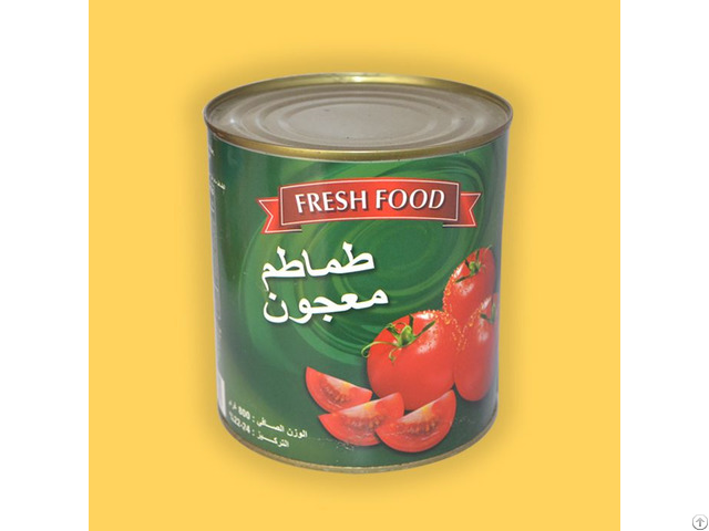 Wholesale Price Tin Cans Safa Brand Canned Tomato Paste With 28 To 30 In Brix