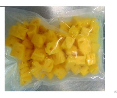 Delicious Frozen Pineapple