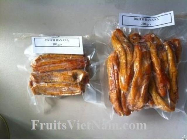Soft Dried Banana