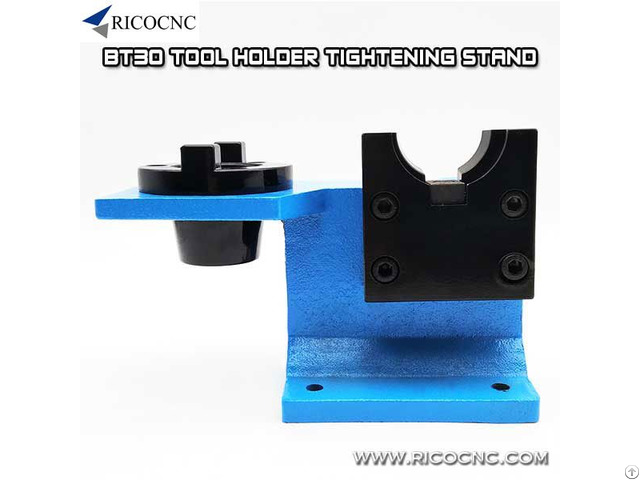 Bt30 Tool Holder Tightening Stand Fixture For Bt 30 Taper