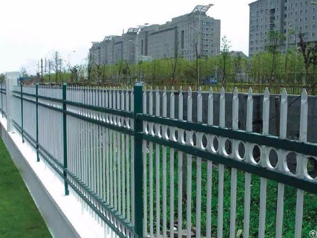 Secure Hot Dipped Galvanized Steel Fence