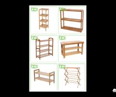 Bamboo Storage Rack
