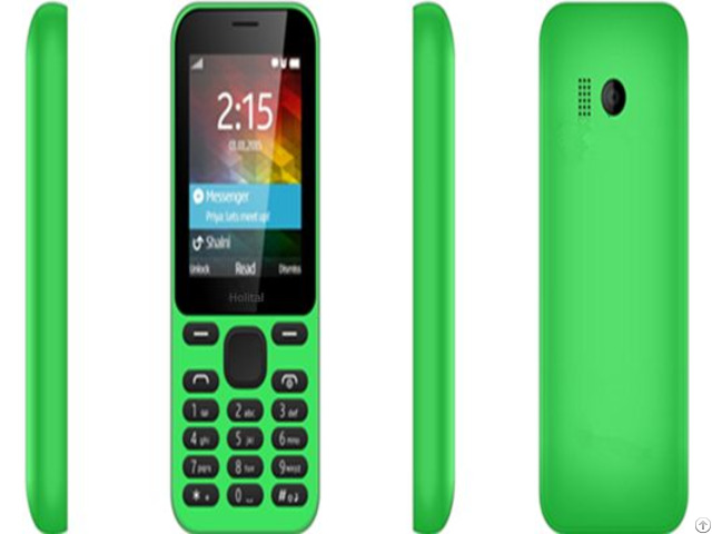 Chinese 2 4inch Bright Screen Bar Elderly Feature Phone With Whatsupp Facebook Twitter H215