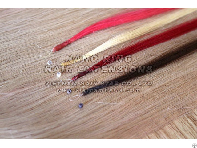 Human Nano Ring Hair Extensions