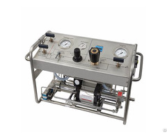 Pneumatic Driven Hydrostatic Pump