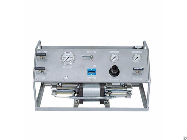 Air Fluid Pressure Booster Tube Test Unit
