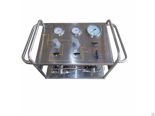 High Pressure Psi Oil Pump Test Bench