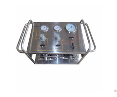 High Pressure Psi Oil Pump Test Bench