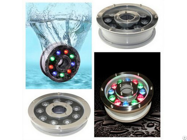 Underwater Led Fountain Light Ip68 Waterproof