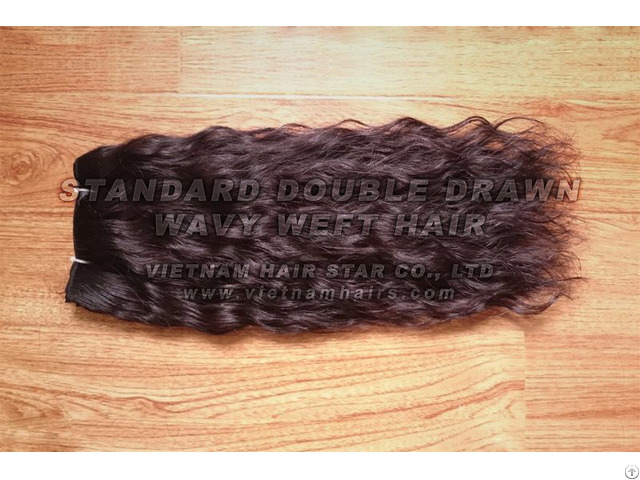 Real Unprocessed Remy Human Hair Extension From Vietnam