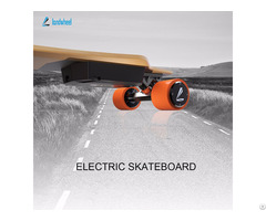 Newly Electric Skateboard With Hub Motor Drive If No Power Can Be Freewheel
