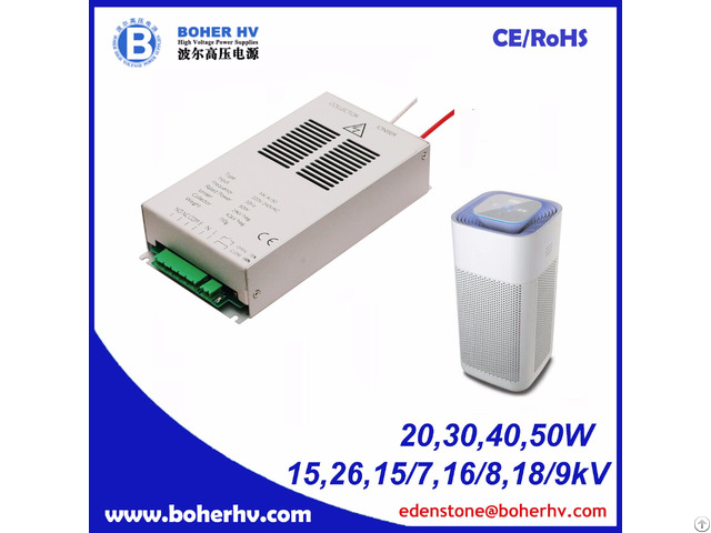 High Voltage Air Purification Power Supply 40w Cf01b