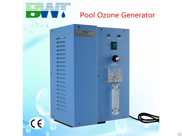 Laundry Equipment 8g H Water Purifying Machine For Commercial Use