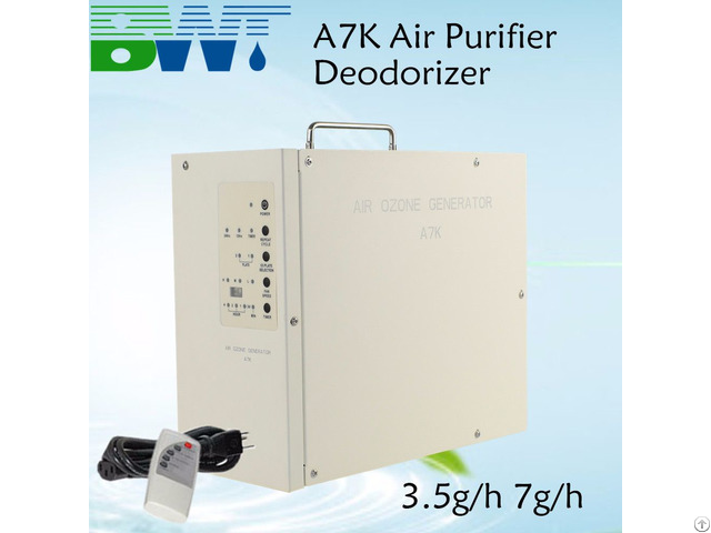 Ozone Air Purifier 3 5g 7g Cleaning Device For Home Hotel Ozonizer Machine