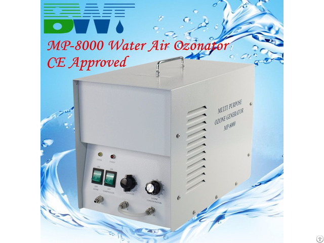 8g H Olive Oil And Air Ozonator Ozone Diffuser Mineral Water Purification