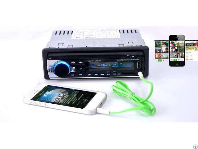Fm Aux Input Receiver Sd Usb Mp3 Mmc Wma Autoradio Car Radio