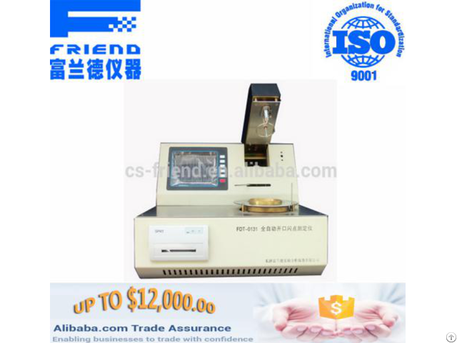 Fdt 0131 Automatic Open Cup Flash Point Tester