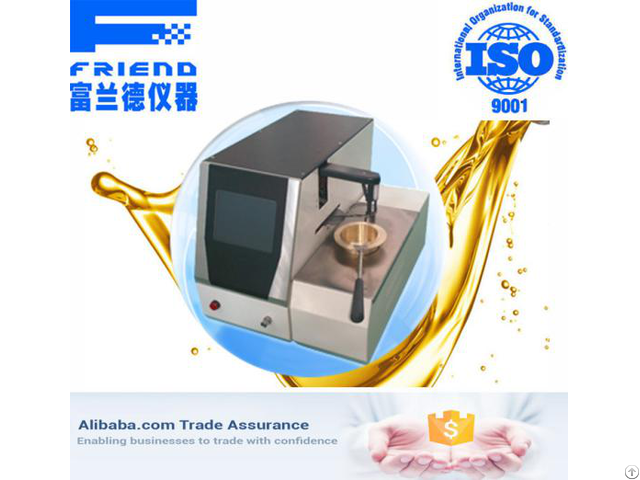Fdt 0231 Automatic Closed Cup Flash Point Tester