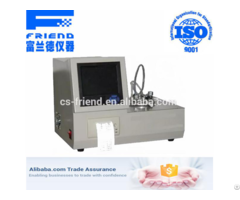 Fdt 0234 Automatic Low Temperature Closed Cup Flash Point Tester