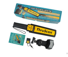 Hand Held Metal Detector Thruscan