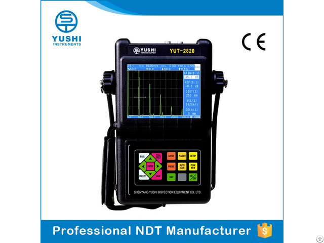 Portable Digital Ultrasonic Flaw Detector