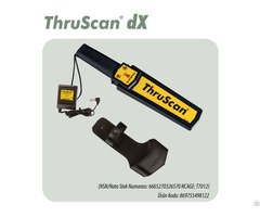 Hand Held Metal Detector Thruscan Dx