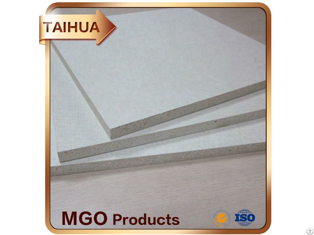 Fire Resistant Class A1 Flexible And Safe Building Material Mgo Board