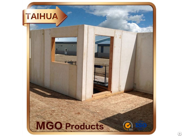 High Strength Fire Rated Exterior Partition Wall And Environmentally Of Mgo Board