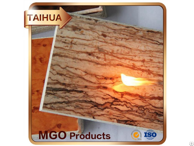 High Density Decorative Of Magnesium Oxide Board Use In Construction