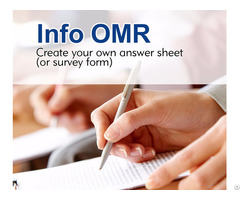 Infoomr- Create Your Own Answer Sheet Or Survey Form