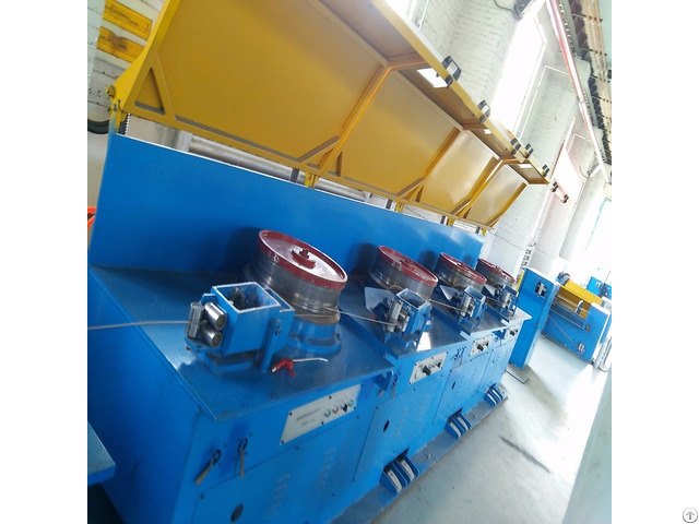 Stainless Steel Flux Cored Wire Drawing Machine