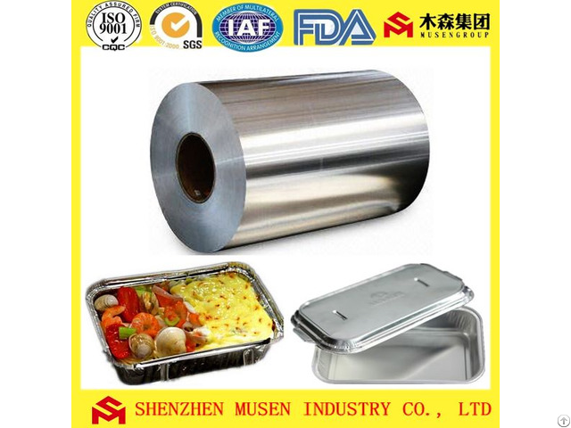 Lubricating Aluminum Foil For Disposable Food Containers