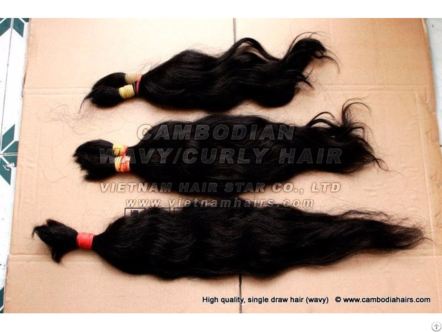 100% Human Cambodian Hair Bundles