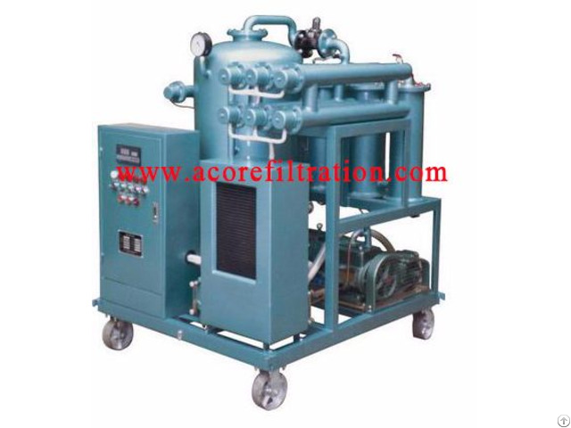 Waste Lubricating Oil Purification Plant