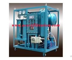 Mobile Trailer Transformer Oil Filtration Machine
