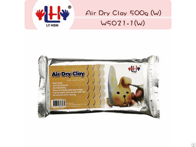 Air Dry Clay White