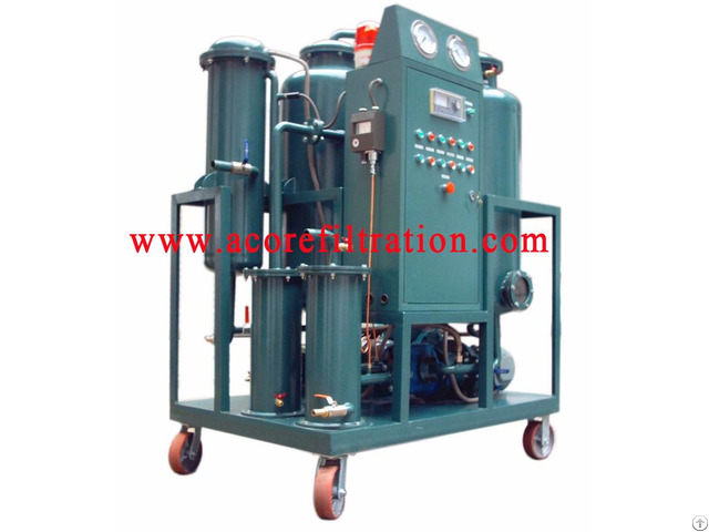 Waste Hydraulic Oil Flushing Cleaning Machine
