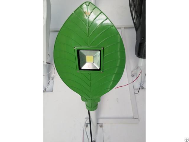 Green Leaf Design Cob Led Street Light Ip65