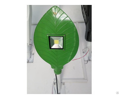 Green Leaf Design Cob Led Street Light Ip65