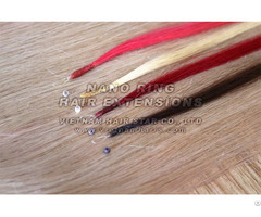 100% Human Nano Ring Hair Extension