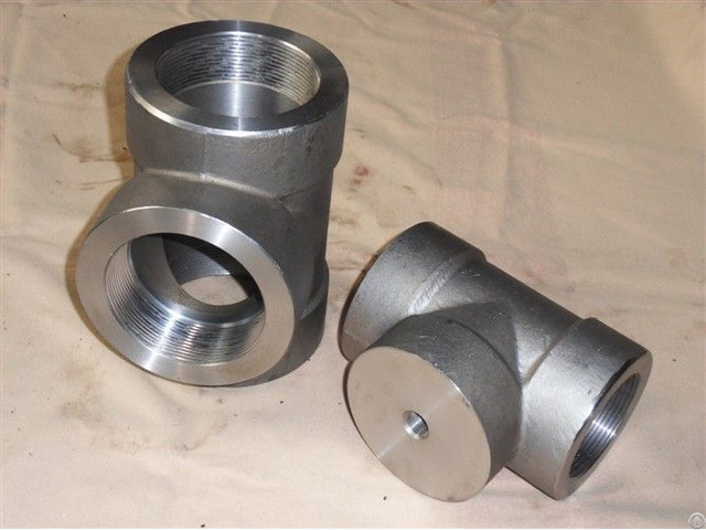 Astm A182 F44 Threaded Tee