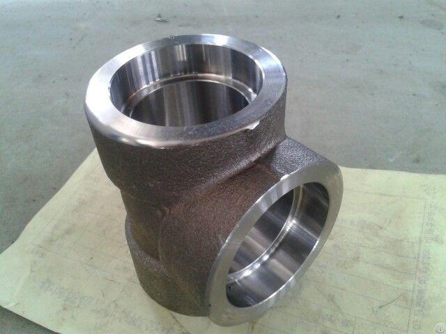 Astm A182 F44 Socket Welding Sw Tee