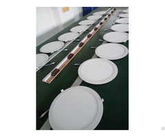 Super Slim Round Led Panel Light Ce Rohs