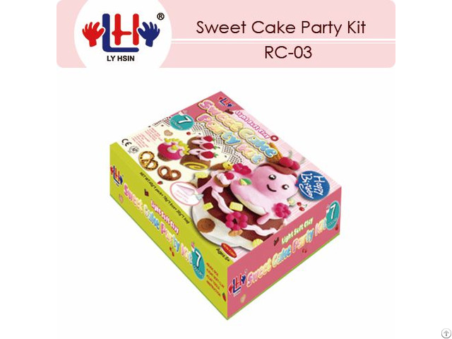Sweet Cake Party Kit For Children Over 5 Years Only